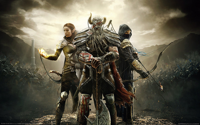 Elder Scrolls MMO wallpaper - Take Your Pick from These 11 Types of Super Addictive Computer Games